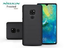 Huawei Mate 20 hátlap - Nillkin Frosted Shield - fekete