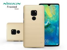 Huawei Mate 20 hátlap - Nillkin Frosted Shield - gold
