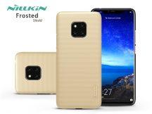 Huawei Mate 20 Pro hátlap - Nillkin Frosted Shield - gold