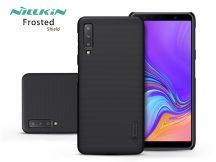 Samsung A750F Galaxy A7 (2018) hátlap - Nillkin Frosted Shield - fekete