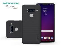 LG V40 ThinQ V405 hátlap - Nillkin Frosted Shield - fekete