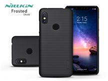Xiaomi Redmi Note 6 Pro hátlap - Nillkin Frosted Shield - fekete
