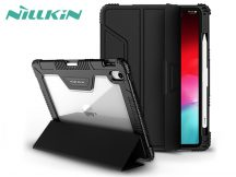 Apple iPad Pro 12.9 (2018) védőtok on/off funkcióval, pencil tartóval - Nillkin Pad Case - black