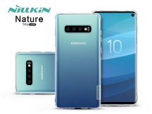Samsung G973U Galaxy S10 szilikon hátlap - Nillkin Nature - transparent