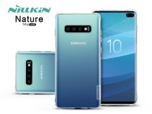 Samsung G975U Galaxy S10+ szilikon hátlap - Nillkin Nature - transparent