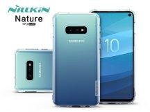 Samsung G970U Galaxy S10e szilikon hátlap - Nillkin Nature - transparent