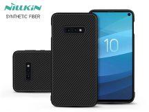 Samsung G970U Galaxy S10e hátlap - Nillkin Synthetic Fiber - fekete