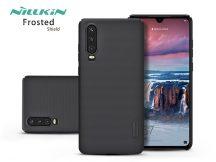 Huawei P30 hátlap - Nillkin Frosted Shield - fekete