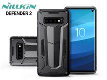 Samsung G973U Galaxy S10 ütésálló védőtok - Nillkin Defender 2 - fekete