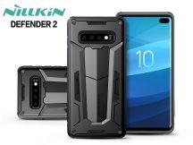 Samsung G975U Galaxy S10+ ütésálló védőtok - Nillkin Defender 2 - fekete