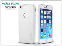 Apple iPhone 6 Plus/6S Plus bőr hátlap - Nillkin Victoria - fehér