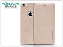Apple iPhone 6 Plus/6S Plus oldalra nyíló flipes tok - Nillkin Sparkle - golden