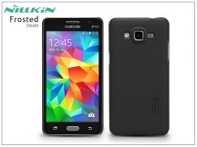 Samsung SM-G530 Galaxy Grand Prime hátlap képernyővédő fóliával - Nillkin Frosted Shield - fekete