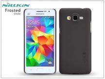 Samsung SM-G530 Galaxy Grand Prime hátlap képernyővédő fóliával - Nillkin Frosted Shield - barna