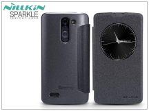 LG D331/335 L Bello oldalra nyíló flipes tok - Nillkin Sparkle - fekete