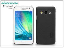 Samsung SM-A300F Galaxy A3 hátlap képernyővédő fóliával - Nillkin Frosted Shield - fekete