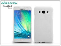 Samsung SM-A300F Galaxy A3 hátlap képernyővédő fóliával - Nillkin Frosted Shield - fehér