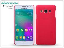 Samsung SM-A300F Galaxy A3 hátlap képernyővédő fóliával - Nillkin Frosted Shield - piros