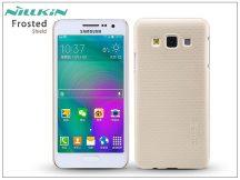 Samsung SM-A300F Galaxy A3 hátlap képernyővédő fóliával - Nillkin Frosted Shield - golden