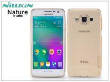 Samsung SM-A300F Galaxy A3 szilikon hátlap - Nillkin Nature - aranybarna
