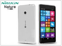 Microsoft Lumia 535 szilikon hátlap - Nillkin Nature - transparent