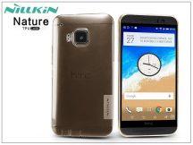 HTC One M9 szilikon hátlap - Nillkin Nature - aranybarna