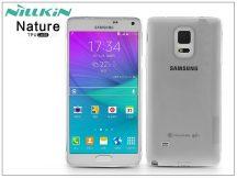 Samsung SM-N910 Galaxy Note 4 szilikon hátlap - Nillkin Nature - szürke