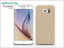 Samsung SM-G920 Galaxy S6 hátlap képernyővédő fóliával - Nillkin Frosted Shield - golden