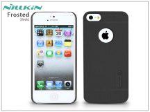 Apple iPhone 5/5S/SE hátlap képernyővédő fóliával - Nillkin Frosted Shield - fekete