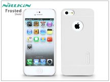 Apple iPhone 5/5S/SE hátlap képernyővédő fóliával - Nillkin Frosted Shield - fehér