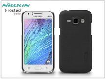 Samsung SM-J100 Galaxy J1 hátlap képernyővédő fóliával - Nillkin Frosted Shield - fekete