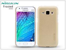 Samsung SM-J100 Galaxy J1 hátlap képernyővédő fóliával - Nillkin Frosted Shield - golden