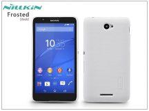 Sony Xperia E4 (E2104/E2105) hátlap képernyővédő fóliával - Nillkin Frosted Shield - fehér
