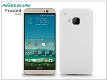HTC One M9 hátlap képernyővédő fóliával - Nillkin Frosted Shield - fehér