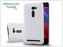 Asus ZenFone 2 (ZE500CL) hátlap képernyővédő fóliával - Nillkin Frosted Shield - fehér