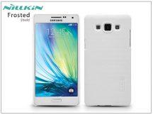Samsung SM-A500F Galaxy A5 hátlap képernyővédő fóliával - Nillkin Frosted Shield - fehér