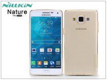 Samsung SM-A500F Galaxy A5 szilikon hátlap - Nillkin Nature - aranybarna