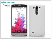 LG G3 S D722 hátlap képernyővédő fóliával - Nillkin Frosted Shield - fehér