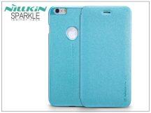 Apple iPhone 6/6S oldalra nyíló flipes tok - Nillkin Sparkle - kék