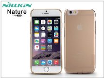Apple iPhone 6/6S szilikon hátlap - Nillkin Nature - aranybarna
