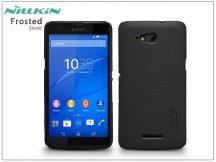 Sony Xperia E4G (E2003) hátlap képernyővédő fóliával - Nillkin Frosted Shield - fekete