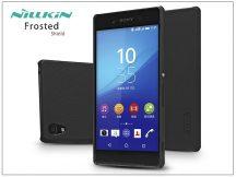 Sony Xperia Z3+/Z4 (E6553) hátlap képernyővédő fóliával - Nillkin Frosted Shield - fekete