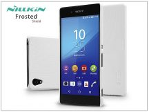 Sony Xperia Z3+/Z4 (E6553) hátlap képernyővédő fóliával - Nillkin Frosted Shield - fehér