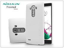 LG G4 H815 hátlap képernyővédő fóliával - Nillkin Frosted Shield - fehér