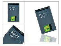 Nokia 3120 classic/E66/6600 slide gyári akkumulátor - Li-Ion 1000 mAh - BL-4U/BL-4UL (ECO csomagolás)