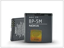 Nokia 5700/7390/8600lun/6110nav gyári akkumulátor - Li-ion 900 mAh - BP-5M (bontott/bevizsgált)