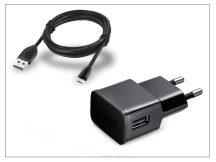 Univerzális USB hálózati töltő adapter + micro USB adatkábel - 5V/2A - ETA-U90EBEG black utángyártott