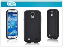 Samsung i9500 Galaxy S4 szilikon hátlap - OLO Cloud - black