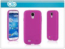 Samsung i9500 Galaxy S4 szilikon hátlap - OLO Cloud - pink