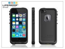 Apple iPhone 5/5S/SE víz- por- és ütésálló védőtok - Lifeproof Fré - black